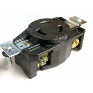 美國COOPER 防鬆插座 CWL530R NEMA L5-30 (等同HUBBELL HBL2610)