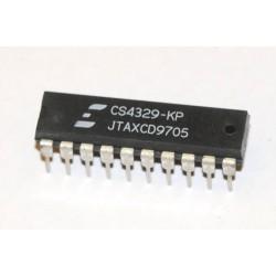 CS4329-KP CS4329 20-Bit, Stereo D/A Converter for Digital Audio