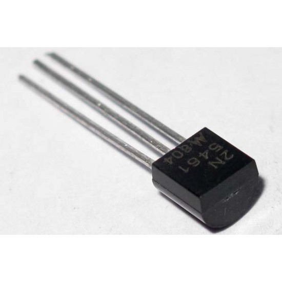 1x MOTOROLA 2N5461 JFET P-Channel 0.35W 40V TO-92 電晶體