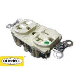 HUBBELL 醫療級插座 8200I (DUPLEX型)