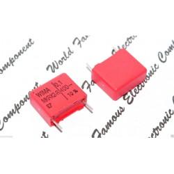 德國WIMA電容器/MKP-X2R/0.1uF/400Vac/15mm