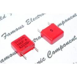 德國WIMA電容器/MKP4/0.22uF/250V/10mm