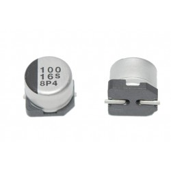 日本 Panasonic 立式電解電容 100uF 16V 6.3*5.4mm 10pcs/1標
