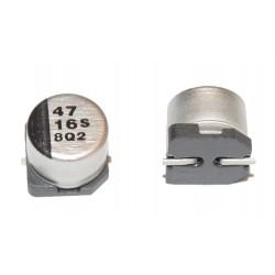 日本 Panasonic 立式電解電容 47uF 16V 6.3*5.4mm 10pcs/1標
