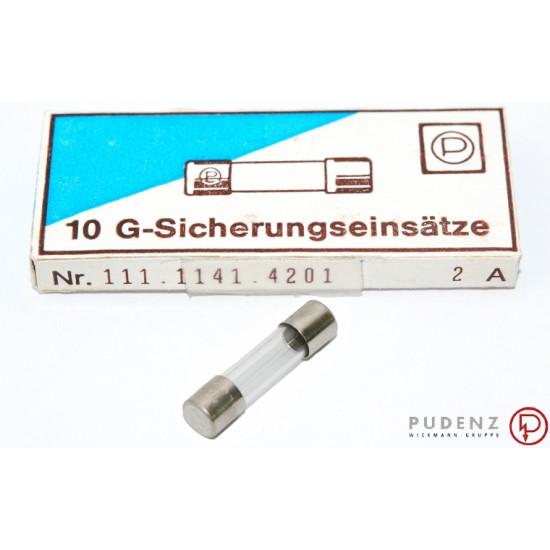 德國PUDENZ保險絲/T/2A 5x20(mm)