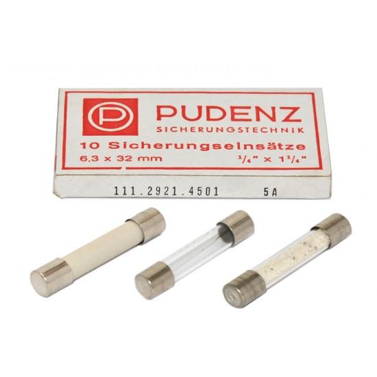 PUDENZ保險絲/F/10A 6.3x32(mm)