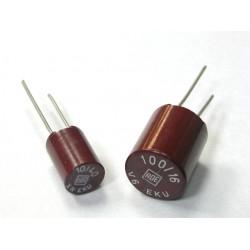 德國ROE立式電解電容/EK/1uf/63V/5mm