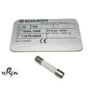 SCHURTER保險絲/FF/4A/灌沙防爆型 6.3x32(mm)
