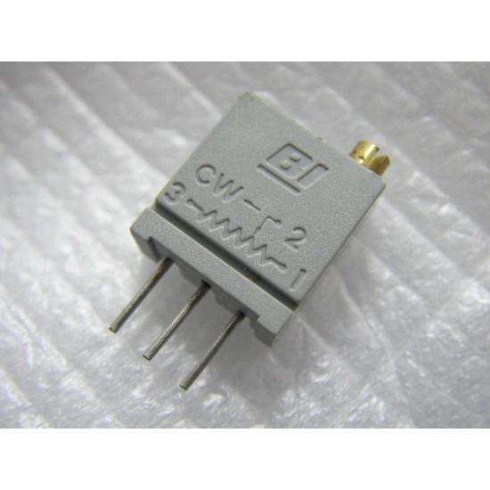 Beckman SVR 25轉 20K 可變電阻 半固定電阻 立式上調