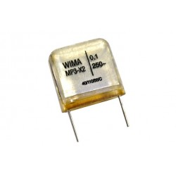 德國WIMA電容器/MP3X2/0.015uF/250VAC/15mm